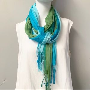 "🎈20% OFF SALE🎈 ""3 Color Ombré Scarf/Wrap"""